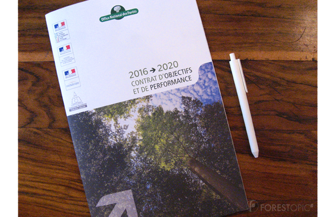 The 2016-2020 contract of the French Forests Office (ONF) – photo credit: Forestopic