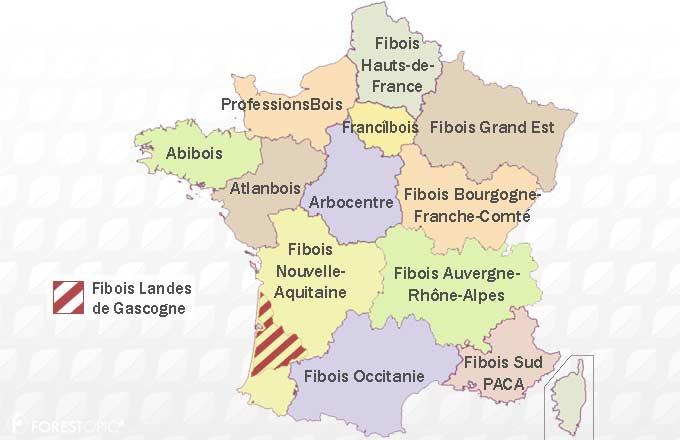 Le Réseau France Bois Régions Recomposé En Nouvelle