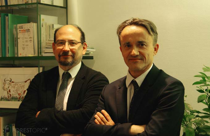 Philippe Mauguin et Thierry Caquet