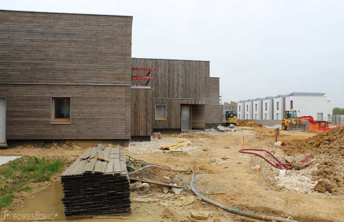 Chantier de construction à Bussy-Saint-Georges, projet d'aménagement conduit par l'EPA Marne, 2019 (crédit photo: CC/Forestopic)