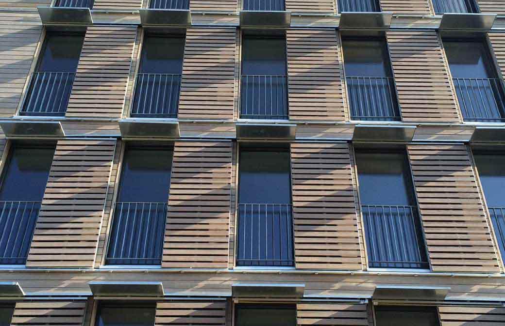 Quatre logements collectifs qui misent sur le bois for Construction bois 93